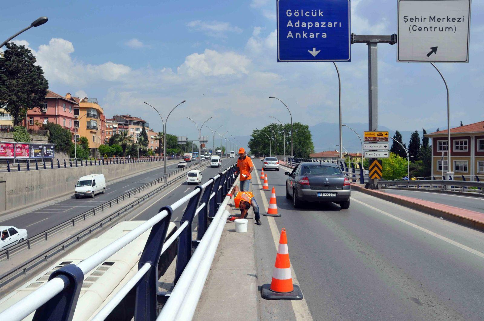 Yol güvenliği için sıkı çalışma!