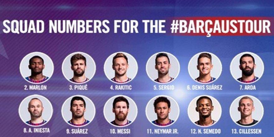 Barcelona'da Arda'nın numarası değişmedi !