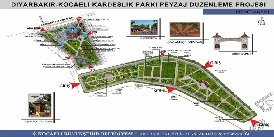 Diyarbakır'a 'Kardeşlik Parkı'