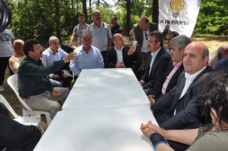 AKP'liler Çayırova'da stres attı!