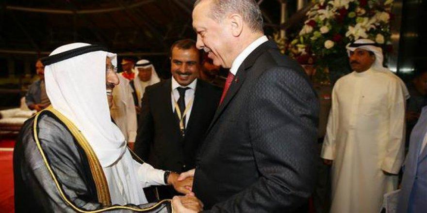 Erdoğan, Kuveyt'ten ayrıldı