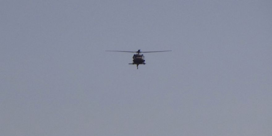 Kilis'te Helikopter Hareketliliği