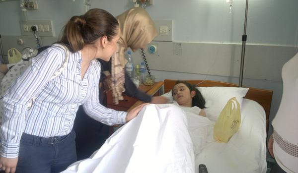 AKP'li Gençler hastaları unutmadı!
