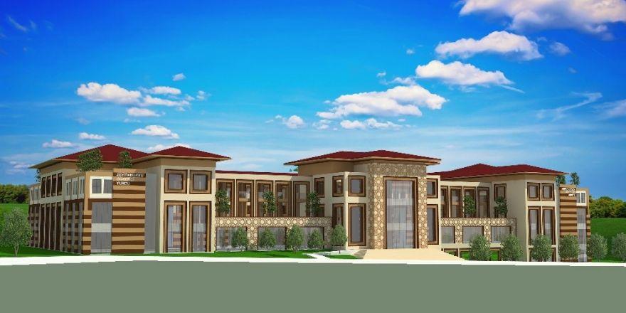 Zeytinburnu'nda Kız Öğrencilere 414 Yatak Kapasiteli Yeni Yurt