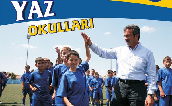 Yaz spor okulları başlıyor!