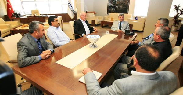 Kooperatif yöneticilerinden Başkan'a ziyaret!