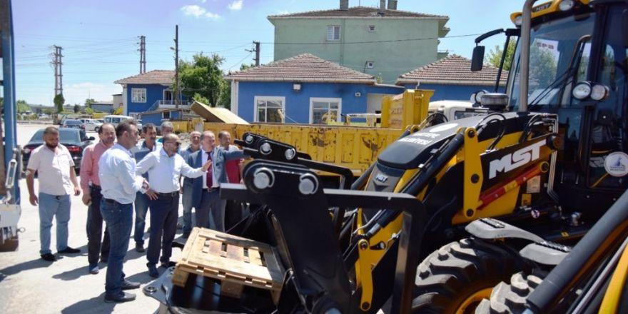 Kartepe Belediyesi Yeni İş Makineleri Aldı