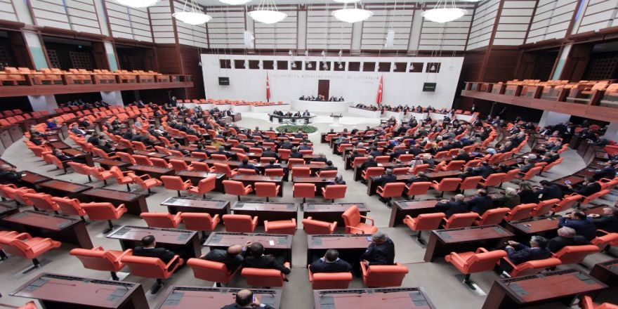 Tbmm İç Tüzüğü Genel Kurul'da Kabul Edildi