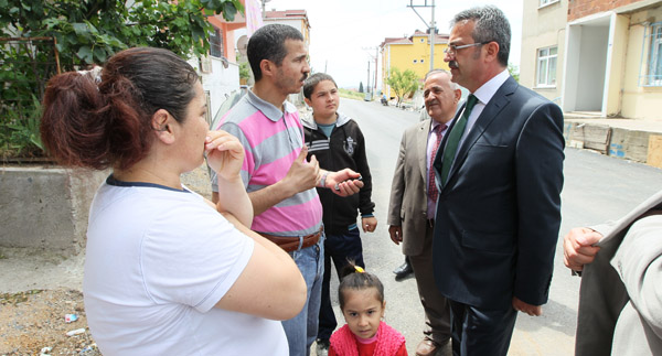 Adem Yavuz'da alt yapı devrimi!
