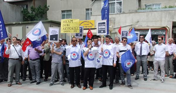 Eğitim emekçileri Çayırova'da ayaklandı!