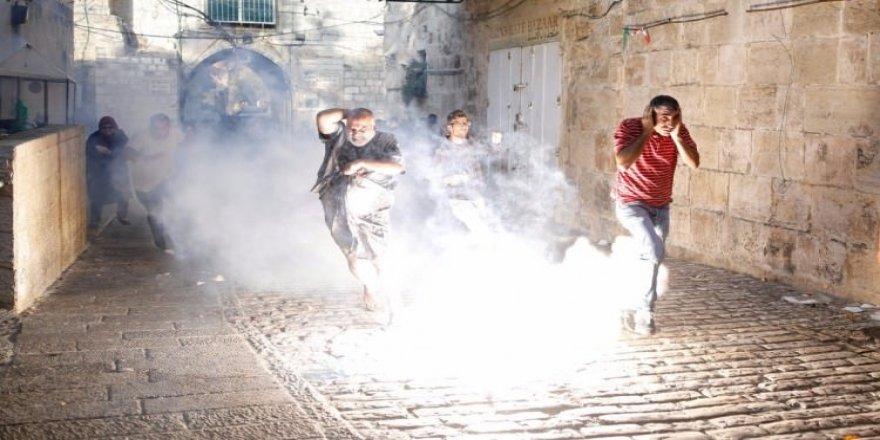 İsrail polisi gerçek mermi kullanıyor