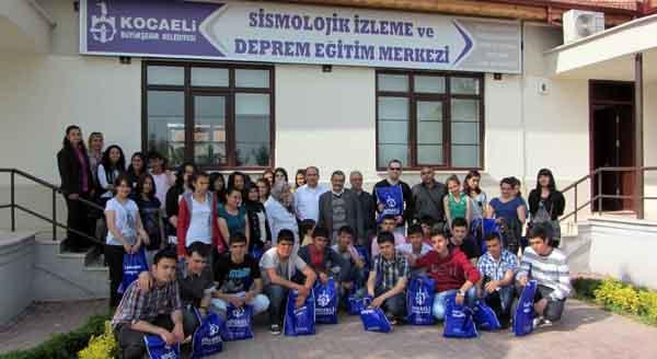 Kırşehirli öğrencilere deprem eğitimi!