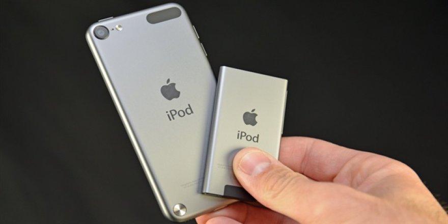 Apple, iPod'ların satışını durdurdu
