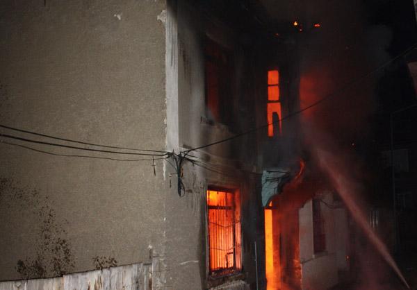 3 saatlik yangın Bozüyüklüler'i korkuttu!