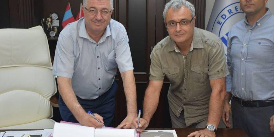 Antandros İçin Sponsorluk Protokolü İmzalandı