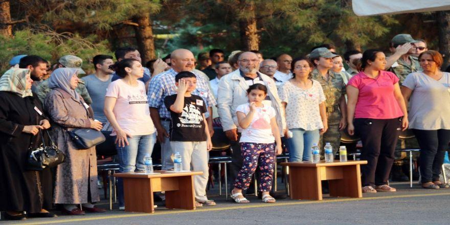 Şehit Binbaşının Çocukları Herkesi Ağlattı