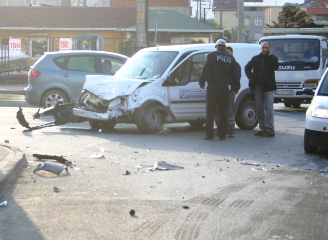 Aynı gün aynı yerde 2. korkunç kaza!