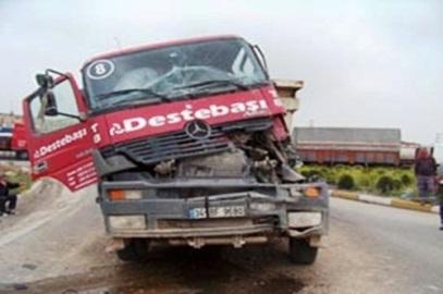 Gebze'de korkunç kaza: 1 yaralı!