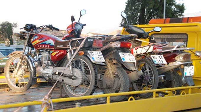 Motorsiklet ehliyetine yüzde elli indirim!