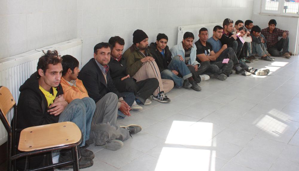 Edirne'de 18 kaçak göçmen yakalandı!