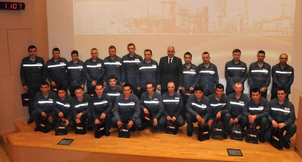 TÜPRAŞ'a 75 yeni çalışan!