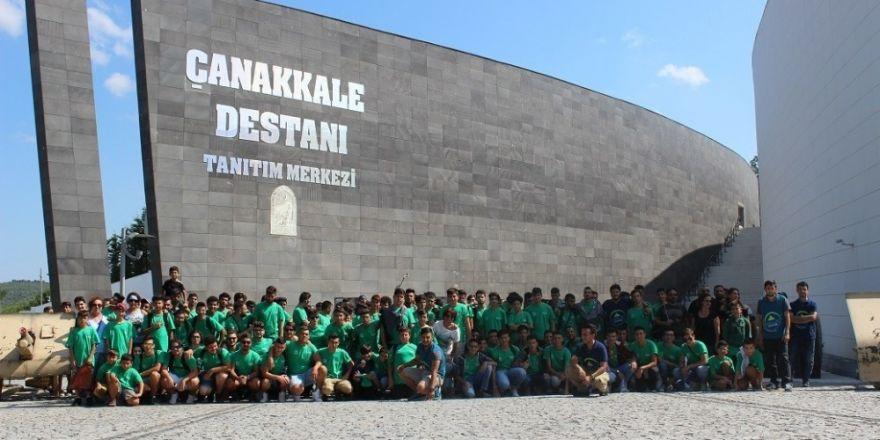 Kıbrıslı Gençlerin Çanakkale Kampı Devam Ediyor