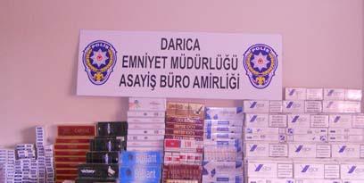 3 bin paket kaçak sigara ele geçirildi!