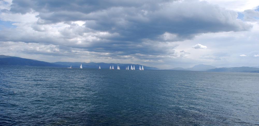 Yelken yarışları nefes kesti!