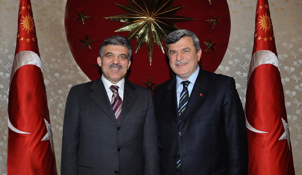 Karaosmanoğlu'ndan Cumhurbaşkanı Gül'e ziyaret!