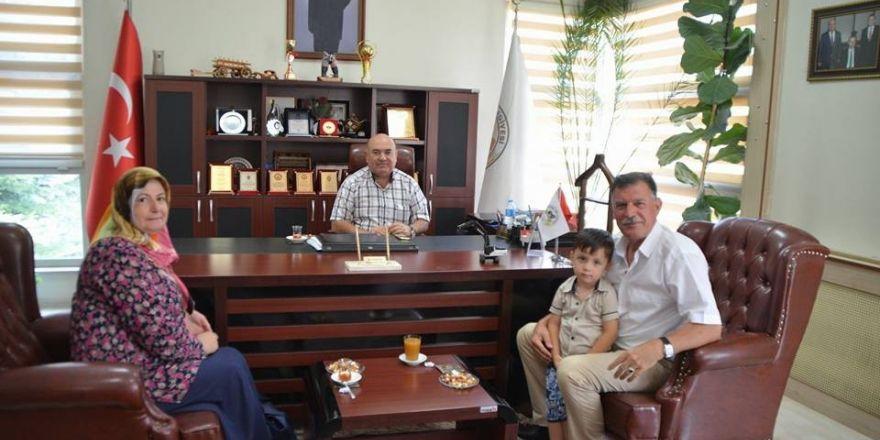 Başkan Duymuş, İvrindi Belediye Başkanı Baydar İle Bir Araya Geldi