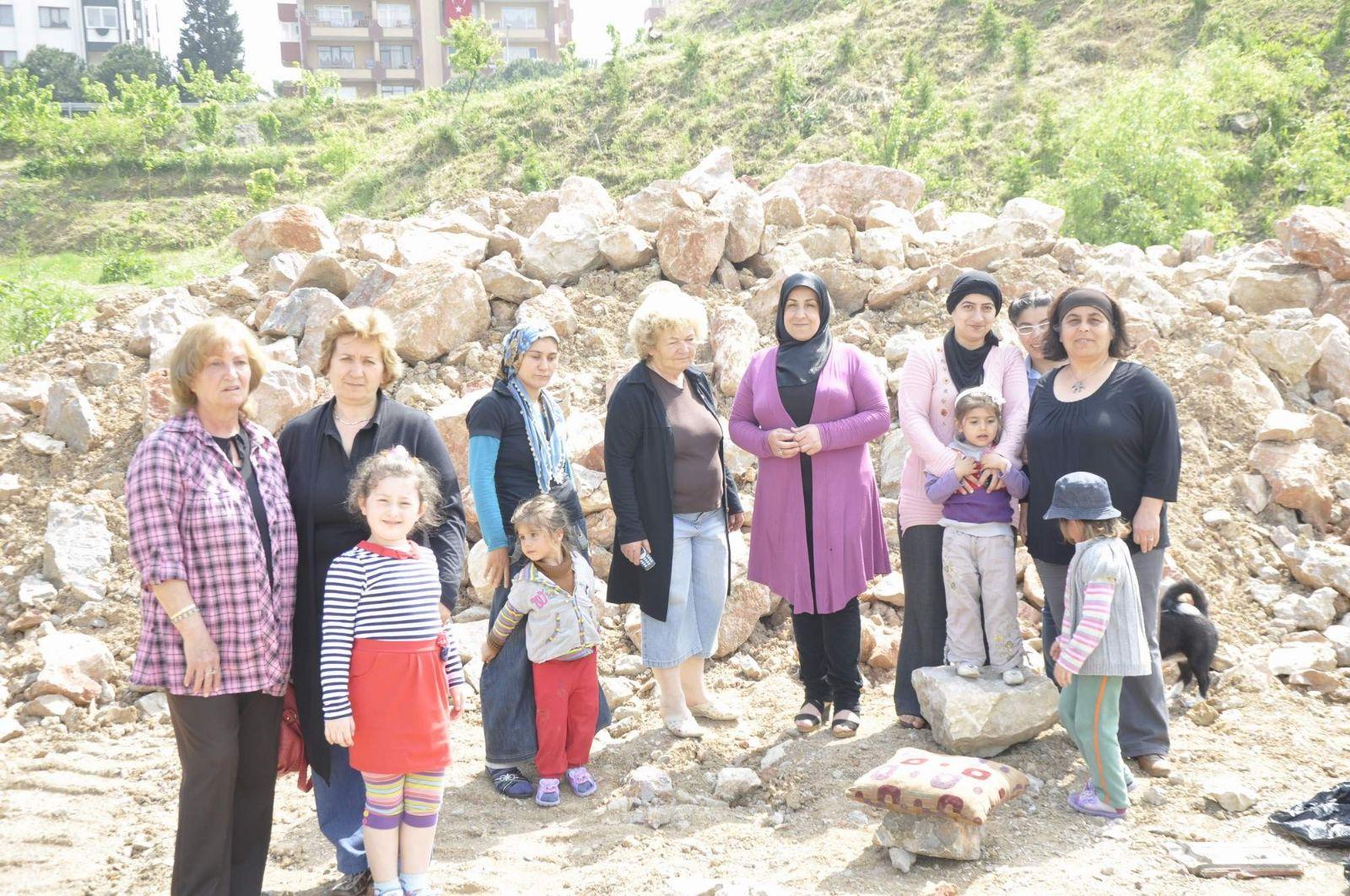 Site sakinlerinden Karaosmanoğlu'na tepki!
