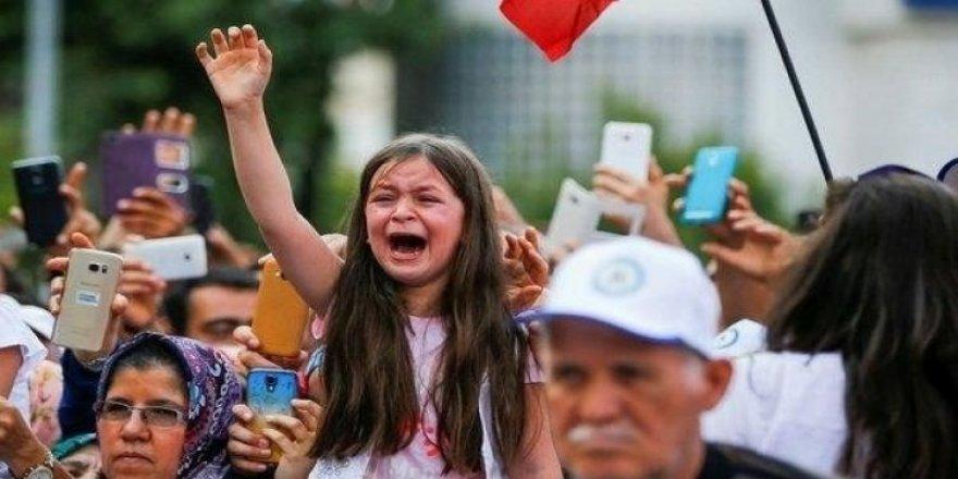 Minik Berrak'ın Erdoğan sevgisi