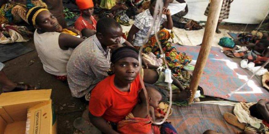 Kongo'da kolera salgında 117 kişi öldü