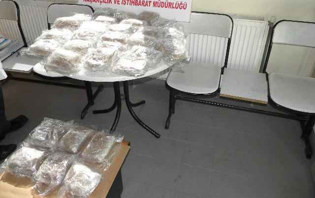 İpsala Sınır Kapısı'nda uyuşturucu operasyonu!