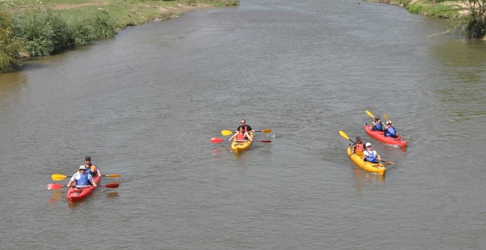Tunca Nehri'nde kano keyfi!
