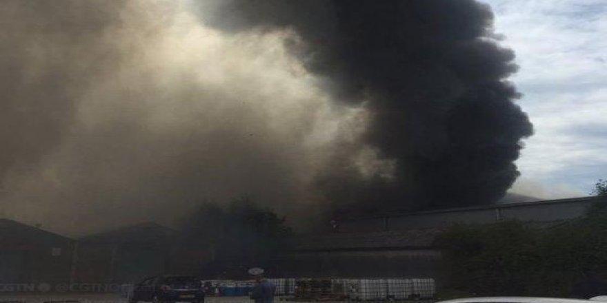 Havaalanında şiddetli patlama!