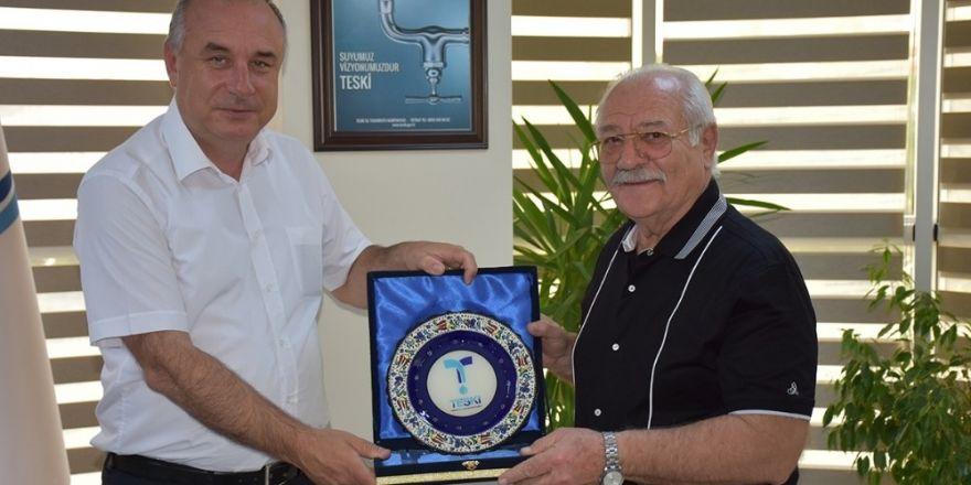Prof. Dr. Eyyup Günay İşbir'den Teski'ye Yatırım Övgüsü