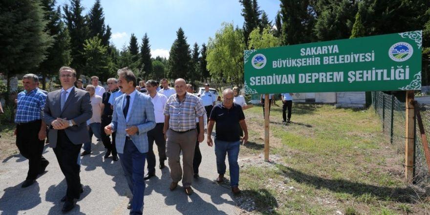Büyük Marmara Depremi'nin şehitleri unutulmadı!