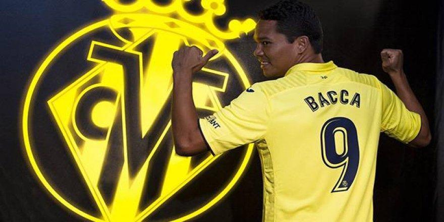 Villarreal, Carlos Bacca'yı kiraladı
