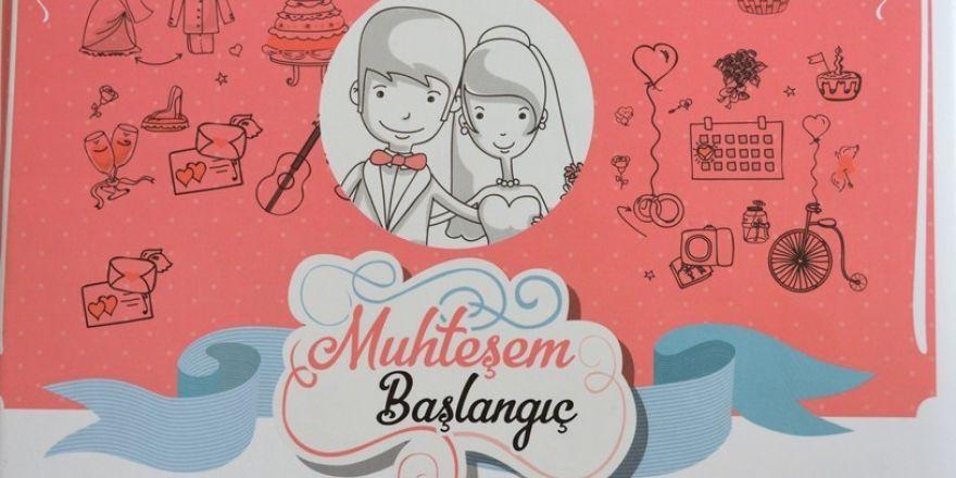 """Yeni Evlenen Çiftlere """"Muhteşem Başlangıç"""" Kitabı"""