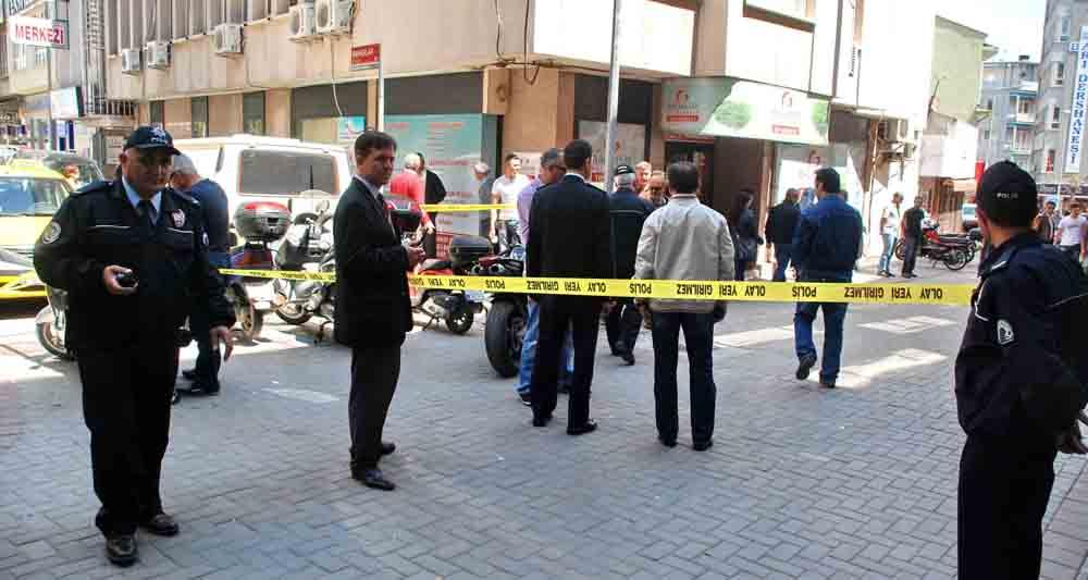 Balıkesir'de şehir merkezinde silahlı saldırı!