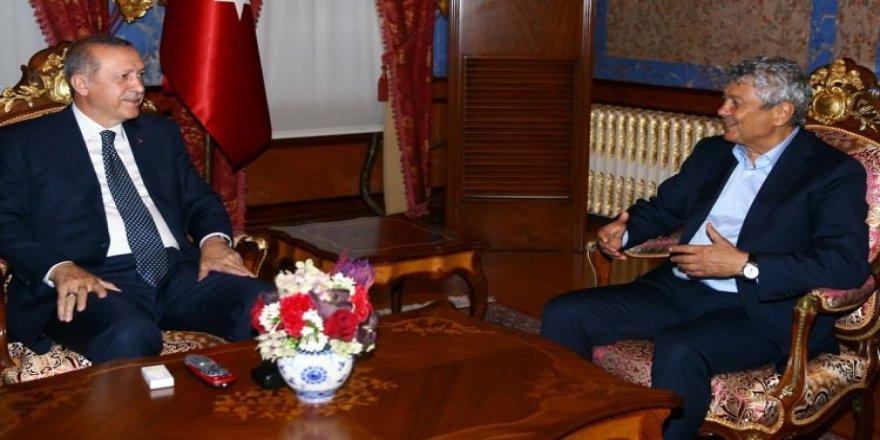 Erdoğan, futbolun zirvesini ağırladı