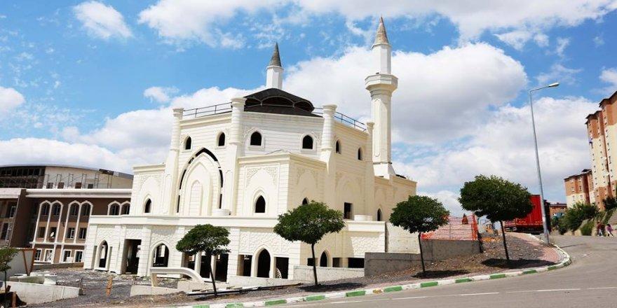 Çağdaşkent Cami'nde sona yaklaşıldı