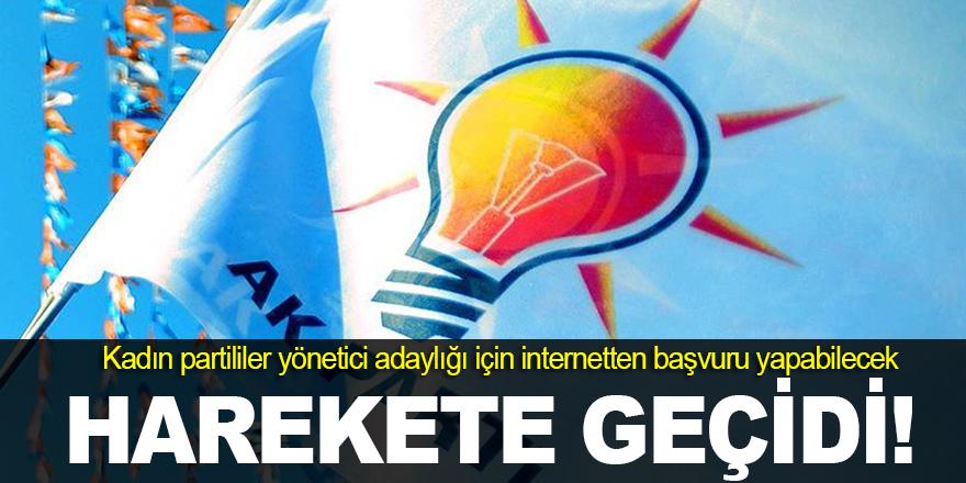 AK Parti harekete geçti