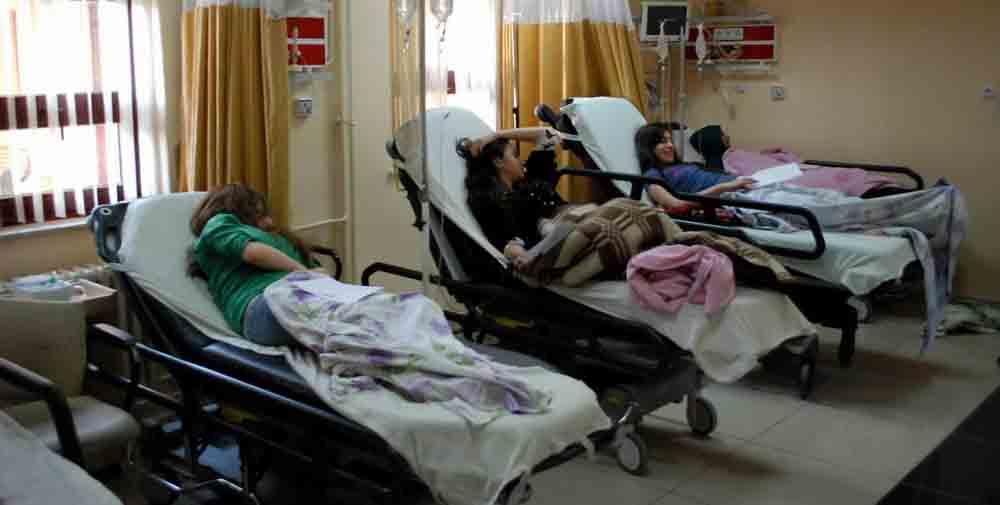 Öğrencileri taşıyan midibüs devrildi: 28 yaralı!