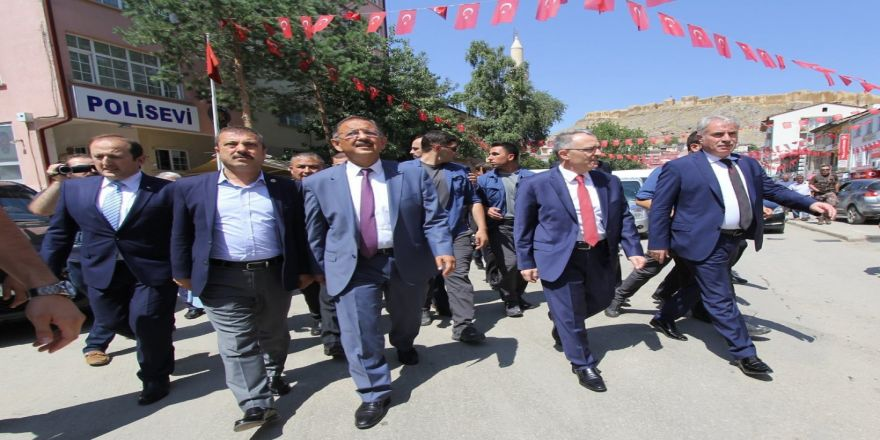 Bakan Ağbal Ve Özhaseki Bayburt'ta