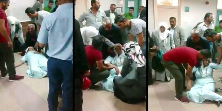 Ağrı Devlet Hastanesinde Skandal Görüntüler