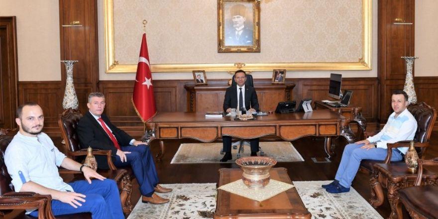 İha'dan Kocaeli Valisi Aksoy'a Ziyaret