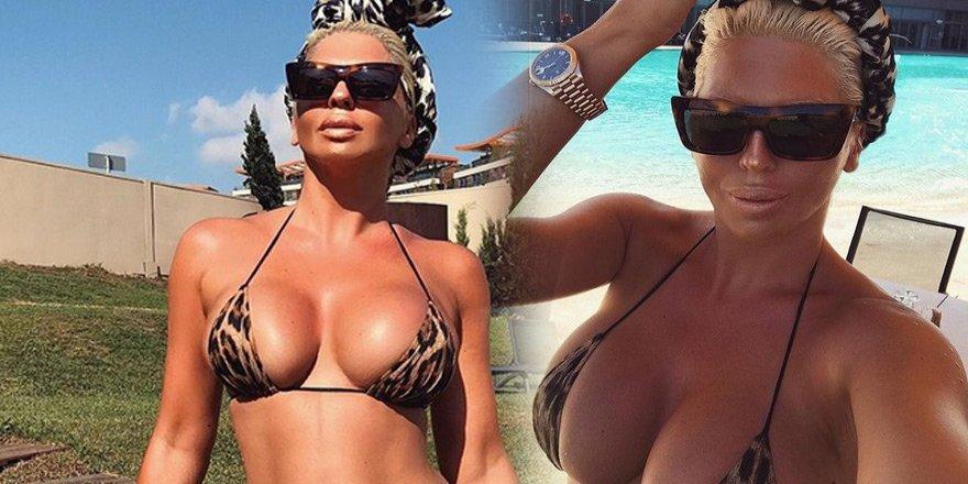 Jelena'dan 39. yaşın ilk bikinili kareleri