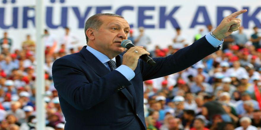 Erdoğan'dan Kılıçdaroğlu'na: Ak Parti İktidarına Teşekkür Et